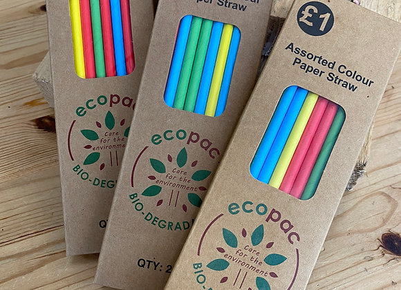 Paper Straws 20 pack
