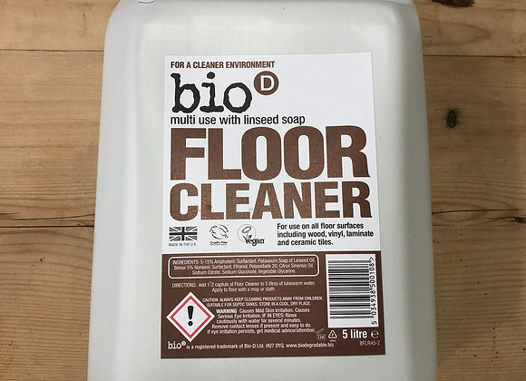 Bio-D plastic free floor cleaner with linseed refill