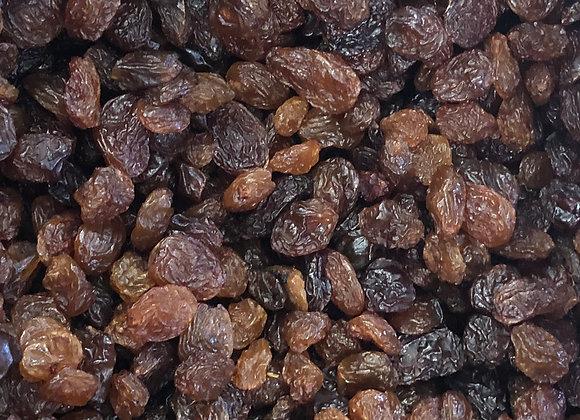 Plastic free organic raisins