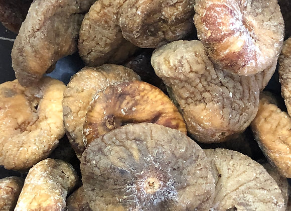 Plastic free organic dried figs