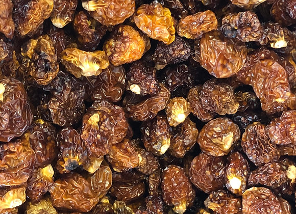 Plastic free organic dried golden berries