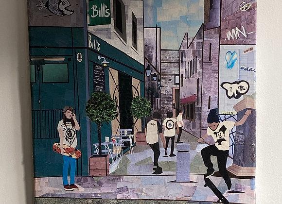 Exeter Street Scene Picture