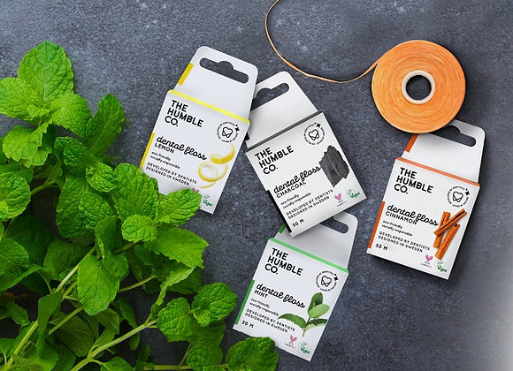 The Humble Co. plastic free vegan dental floss