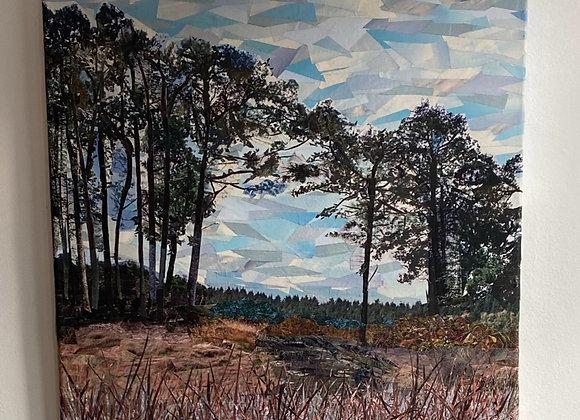 Mutter Moor Sidmouth, Devon on canvas