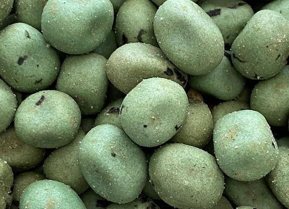 Plastic free wasabi peanuts