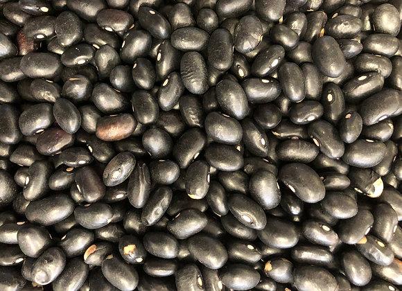 Plastic free organic black turtle beans