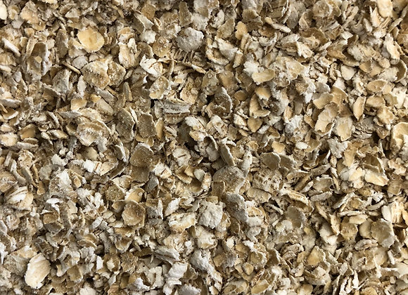 Plastic free porridge oats