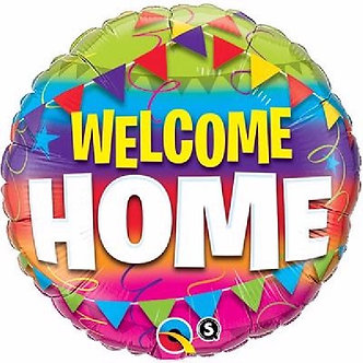 WELCOME HOME PENNANTS 18IN FOIL