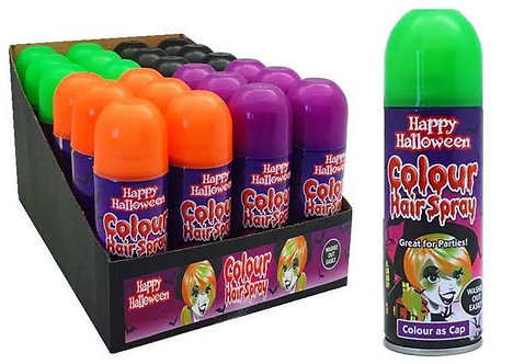 250ML HALLOWEEN HAIR SPRAY