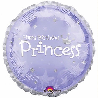 18IN BIRTHDAY PRINCESS FOIL BALLOON
