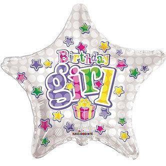 18IN BIRTHDAY GIRL FOIL