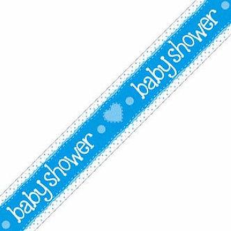 9FT BABY SHOWER BLUE BANNER
