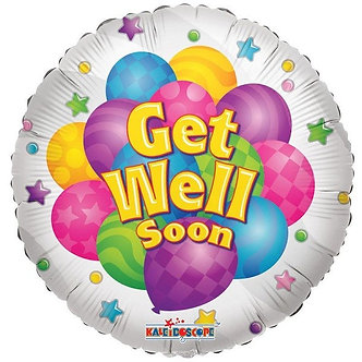 18IN GET WELL BALLOONS FOIL BALLOON