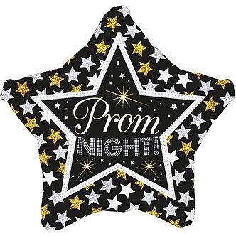 18IN PROM NIGHT STARS HOLO FOIL