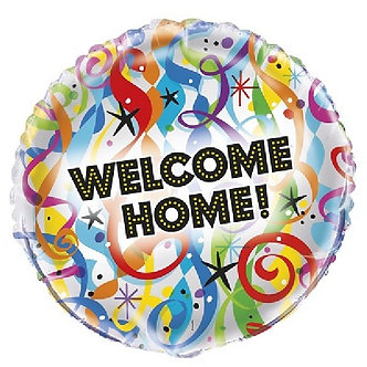 18IN BRGHT WELCOME HOME FOIL BALLOON