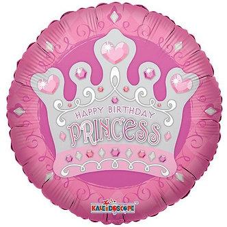 18IN BIRTHDAY PRINCESS TIARA FOIL