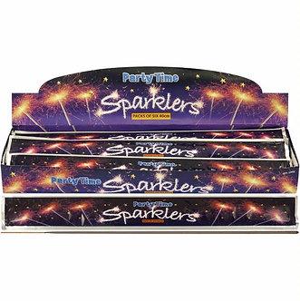 6PK 40CM SPARKLERS (sold in 24s)