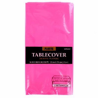 Plastic Tablecovers