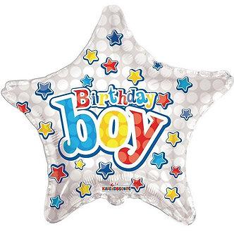 18IN BIRTHDAY BOY FOIL
