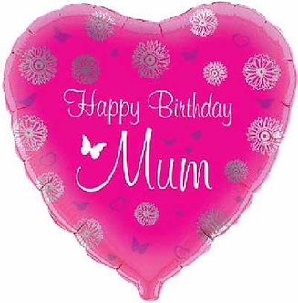 HAPPY B/DAY MUM 18IN FOIL