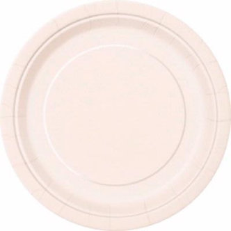 16PK 9IN IVORY PLATES