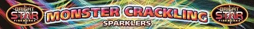 4PK 14IN MONSTER CRACKLING SPARKLERS (sold in 50s)