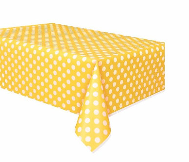 Plastic Dots Tablecovers
