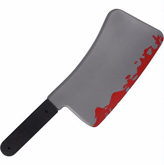 45CM BLOODIED CLEAVER WEAPON