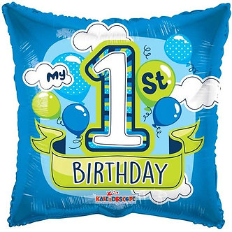 18IN 1ST BIRTHDAY BOY FOIL BALLOON