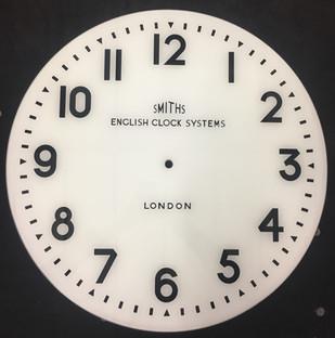 painted clock