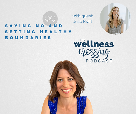 Website podcast julie kraft setting heal
