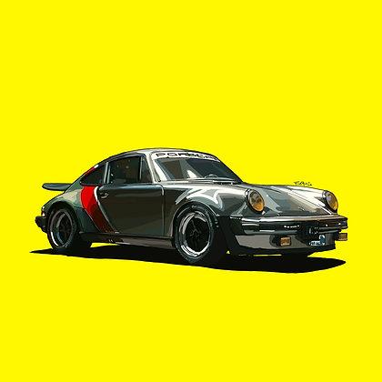 Cyberpunk Inspiration Porsche 911
