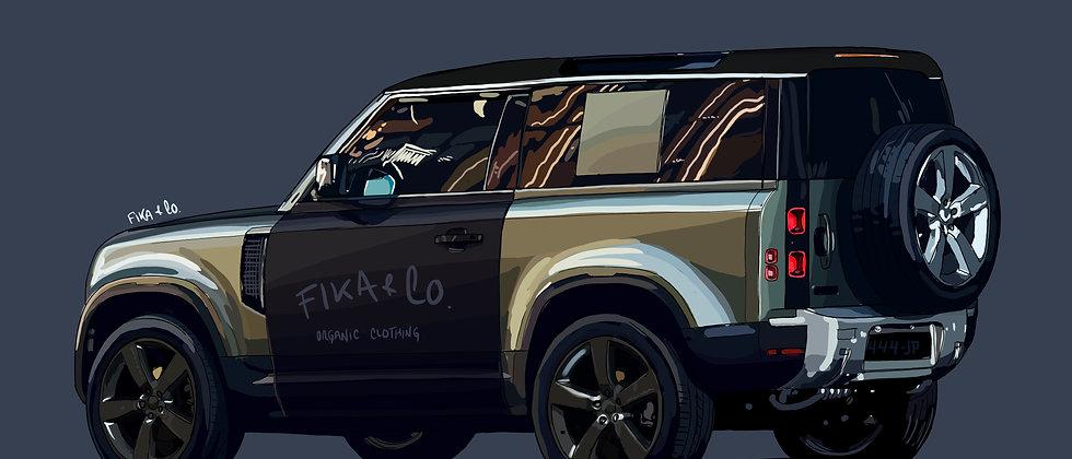 Land Rover DEFENDER FIKA Prototype