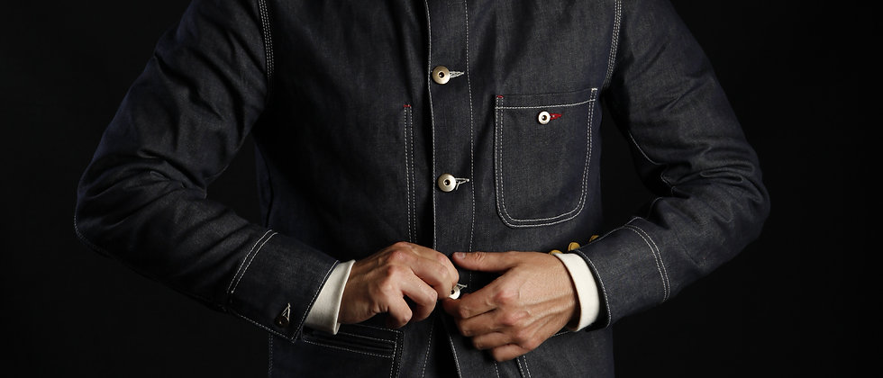 ENGINEER COVERALL JACKET SELVEDGE