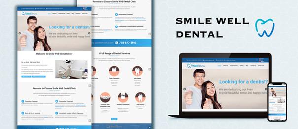 Smile Well Dental Website