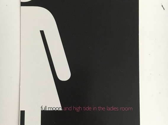 Full Moon and High Tide in the Ladies' Room