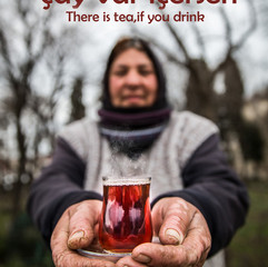 There is tea, if you drink