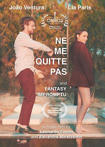 "João Ventura starring Lia Paris - counterpoint of ""ne me quitte pas"" with ""fantasy impromptu"""