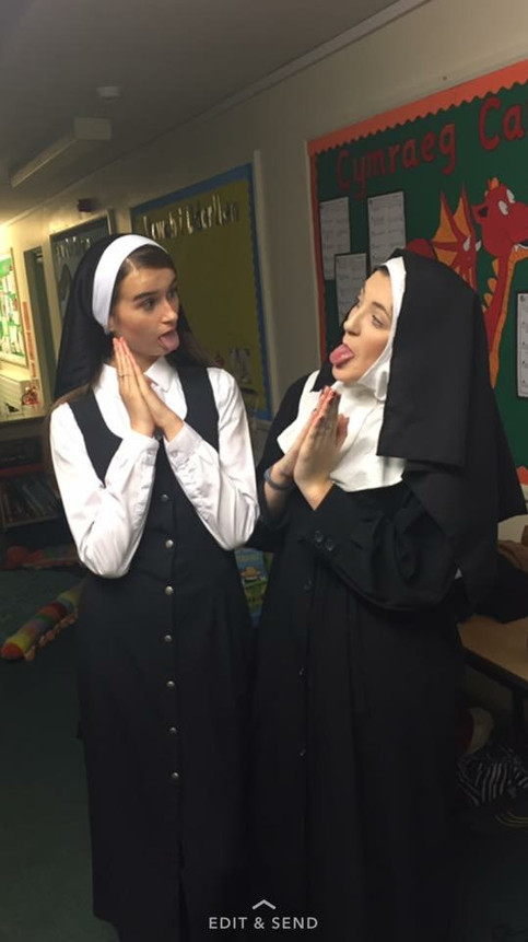 Who says nuns don't have fun?