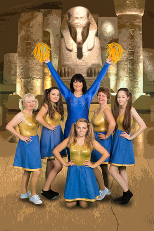 The king's cheerleaders