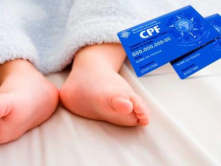 Em 2018, Receita exigirá CPF de crianças a partir de 8 anos.