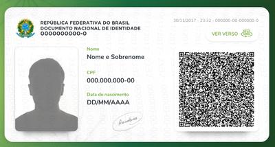 Brasil terá documento único e digital a partir de julho de 2018