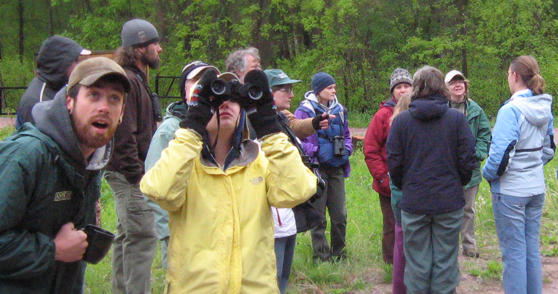 Birdwatching at Aldo Leopold Center
