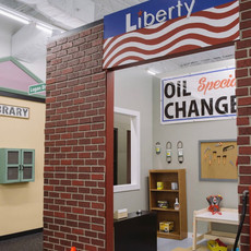 Liberty Gas & Library