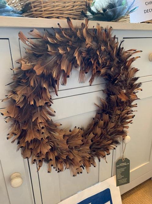 Feather Wreath 40cm