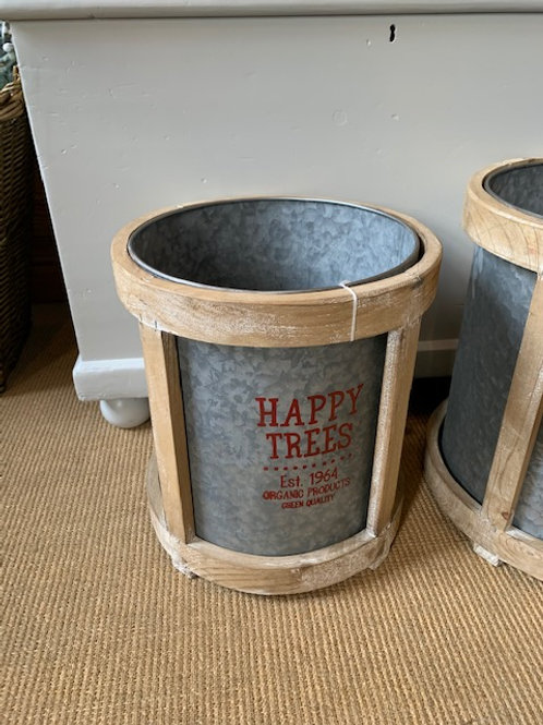 Christmas Tree Bucket, Earsham Home Furnishings, Bungay