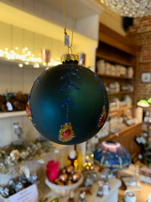 A Selection of Christmas Baubles From