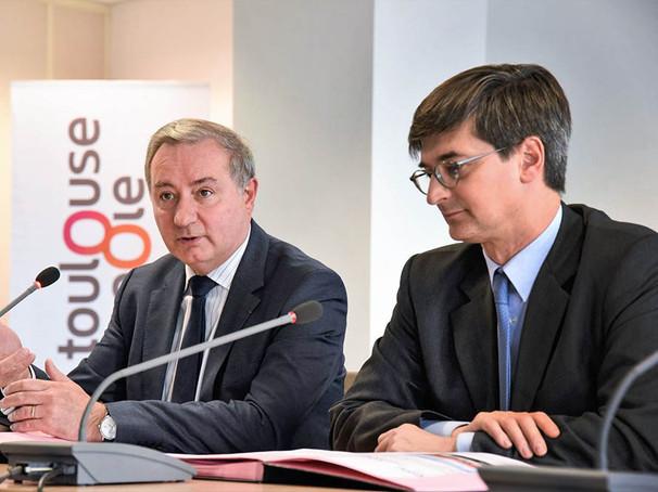 conference de presse toulouse metropole.