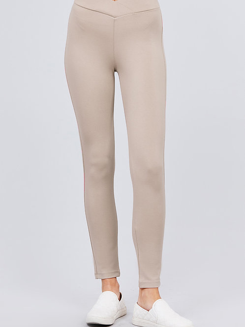 Plus Mid Rise Long Pants