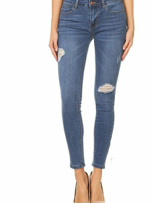Destructive Medium Skinny Jean